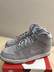 Nike BIG NIKE HIGH LUX Wolf Grey 854165 002 Men's Size 10