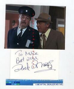 Derek Francis vintage signed card AFTAL #145