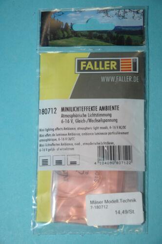 """Faller 180712 Lichtefekte /"""" Ambiente /""""  NEU"""
