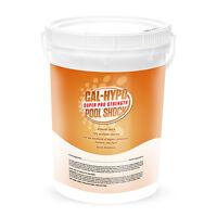 Swimming Pool 73% Calcium Hypochlorite Super Chlorine Shock 50lb Bucket Cal Hypo