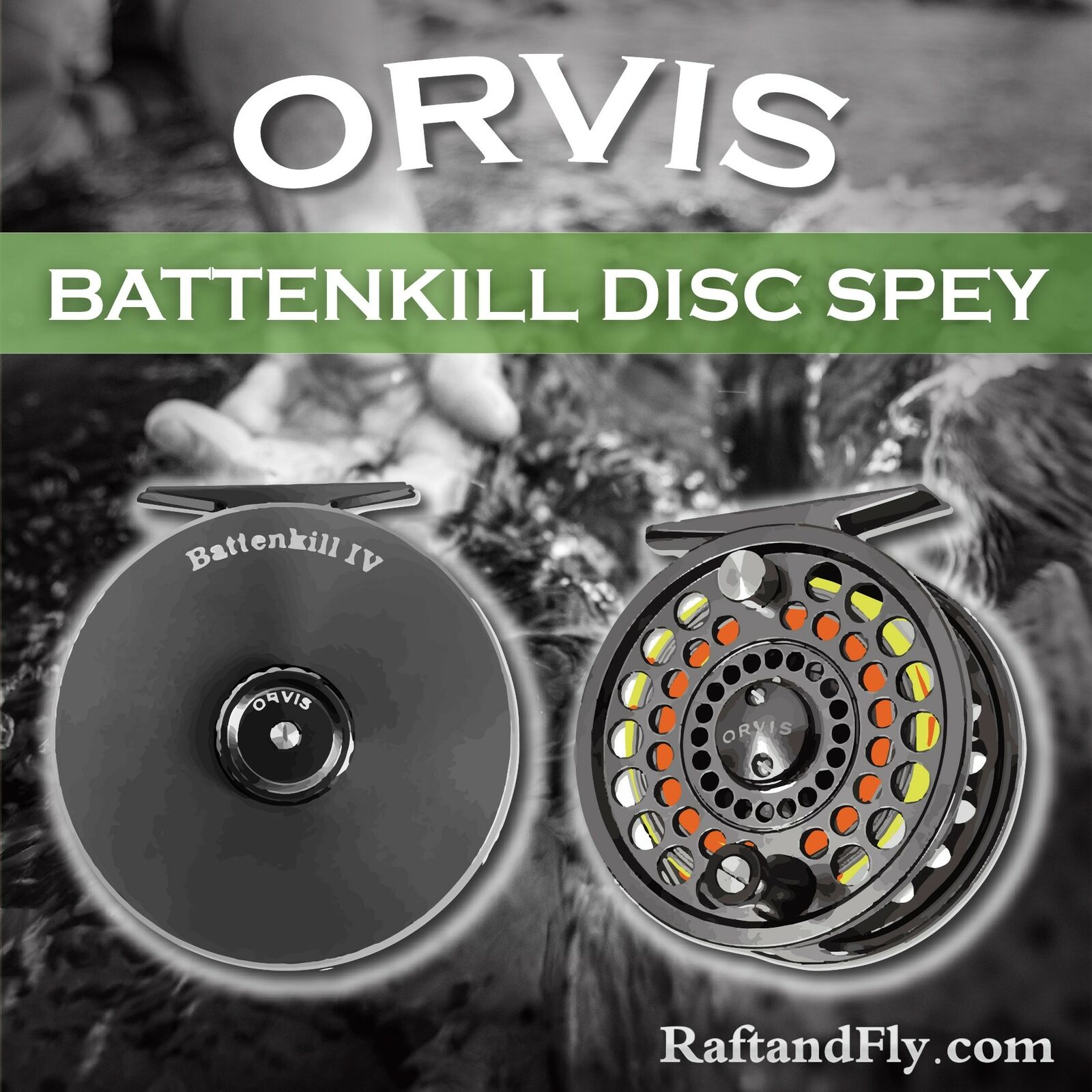 Orvis Battenkill IV Disc  Spey 7-9wt Spey Reel - Free Shipping  wholesale prices
