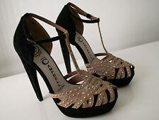 new JEFFREY CAMPBELL ibiza last platform heels shoes size UK 6 EU 39 rrp £155