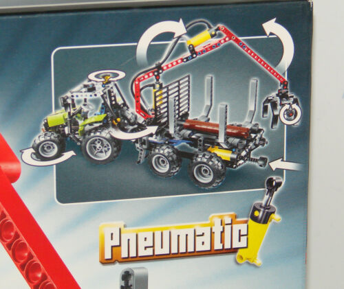 LEGO® Technic 8049 Traktor mit Forstkran Neu  Tractor with Log Loader NEW MISB