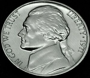 Coin from Bank Roll 1971 D Jefferson Nickel ~ Uncirculated U.S
