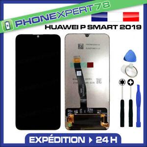 ECRAN-LCD-VITRE-TACTILE-ASSEMBLES-HUAWEI-P-SMART-2019-NOIR