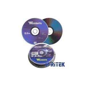 DVD-R-Doble-Capa-8X-Traxdata-Tarrina-10-uds-RitekS04
