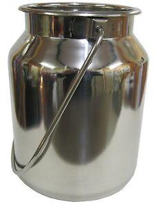 Stainless Steel Economy Milk Churn 5 litre