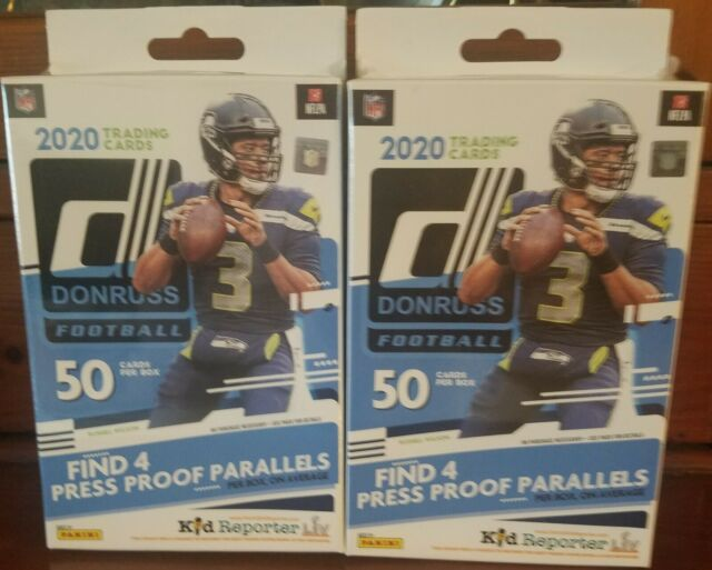 2020 Panini Donruss NFL Football Hanger Box Red Walmart Exclusive Factory Sealed