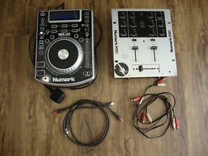 NUMARK NDX 400 USB/CD MP3/CD Scratch joueur avec Numark M101 Mixer Spares Repair