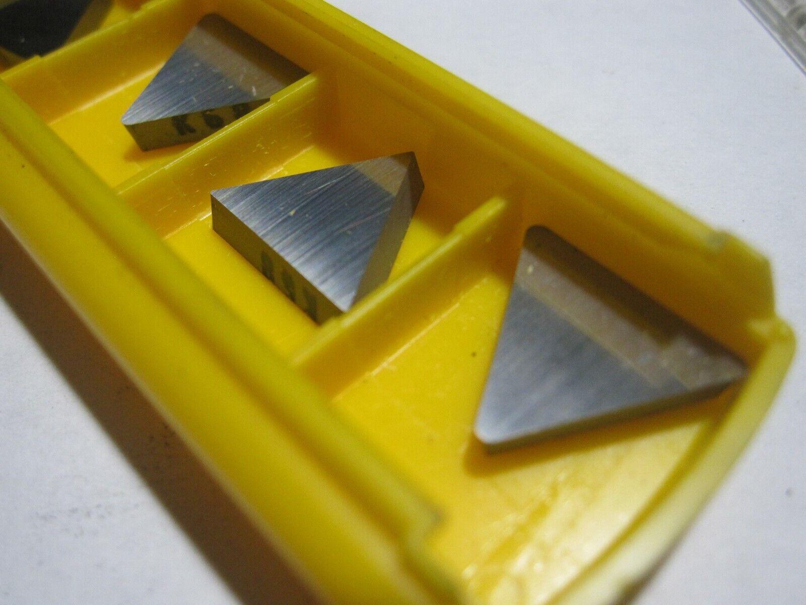 5 Kennametal  T02P-32L004 Carbide Inserts T02P 16 03 L010 Grade KT5135 NEW!!!