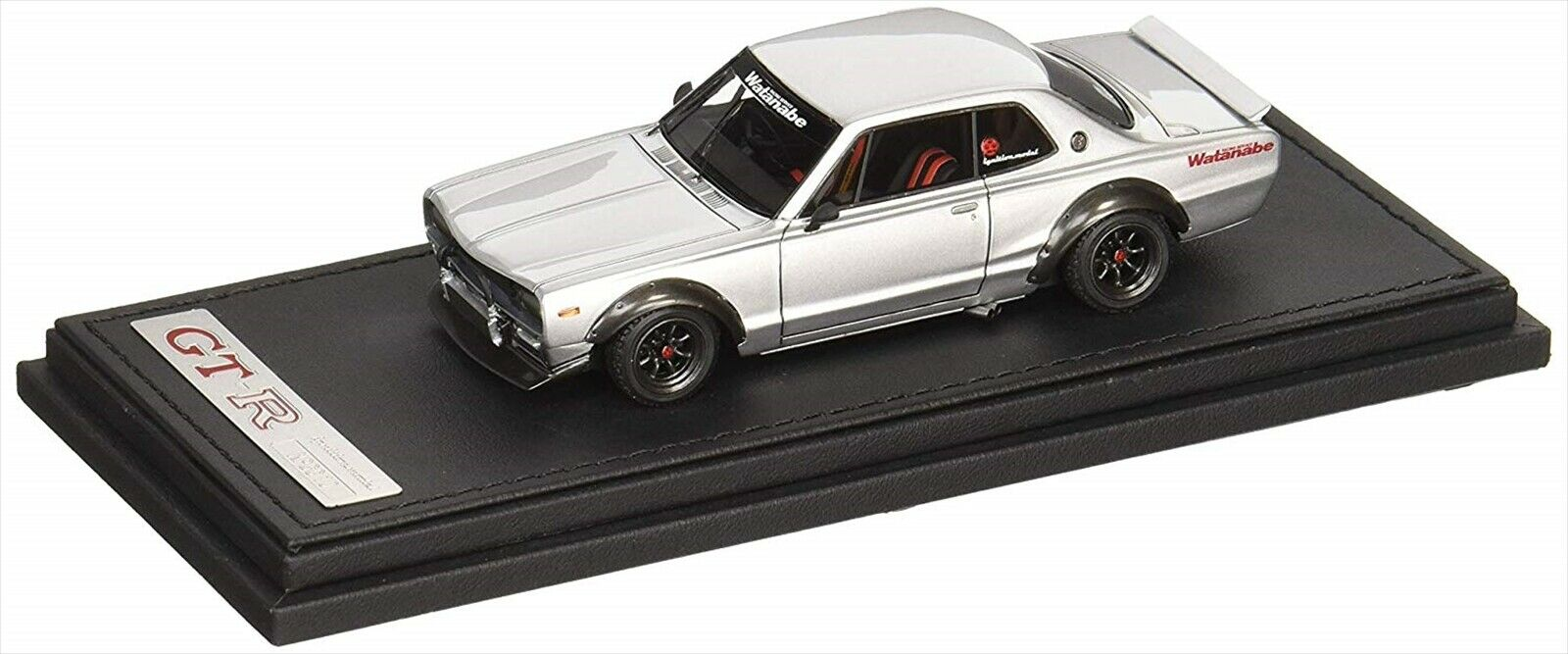 Ignition Model 1 43 NISSAN Skyline 2000 GT-R (KPGC 10) Argent rempli NEUF
