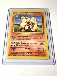 ARCANINE-Base-Set-2-33-130-INFRECUENTE-tarjeta-de-pokemon-edicion-ilimitada-Casi-Nuevo