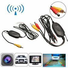 2.4G RCA Video Transmitter Receiver Kit For Car Rear View Parking Backup Camera