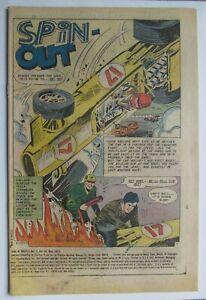 Vol. 5 # 59 1973 DRAG N' WHEELS COVERLESS COMIC - good - c/sh