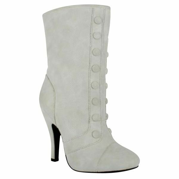 Women's Dolce Foxy Mid-Calf Boot Ice Size 8.5 #NJZU8-595