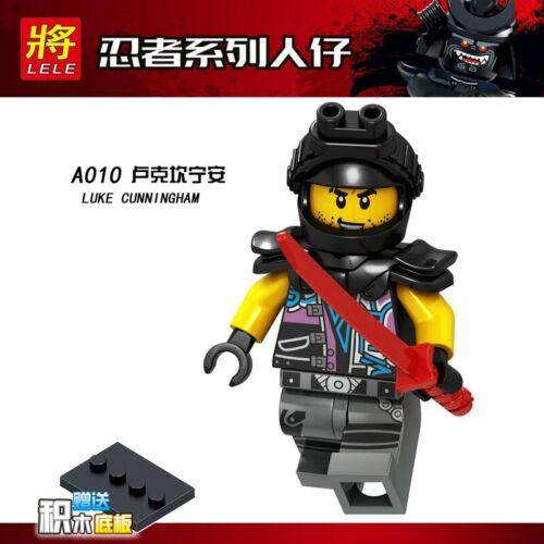 1pcs Ninja Kai Cole Jay Zane Lloyd Nya Mini action Figures Building Blocks Kids