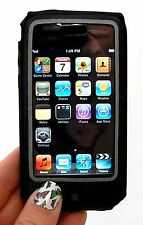 N32 Belkin Fitted Leather Sleeve Case W/belt Clip for iPod Touch 2g/3g Black