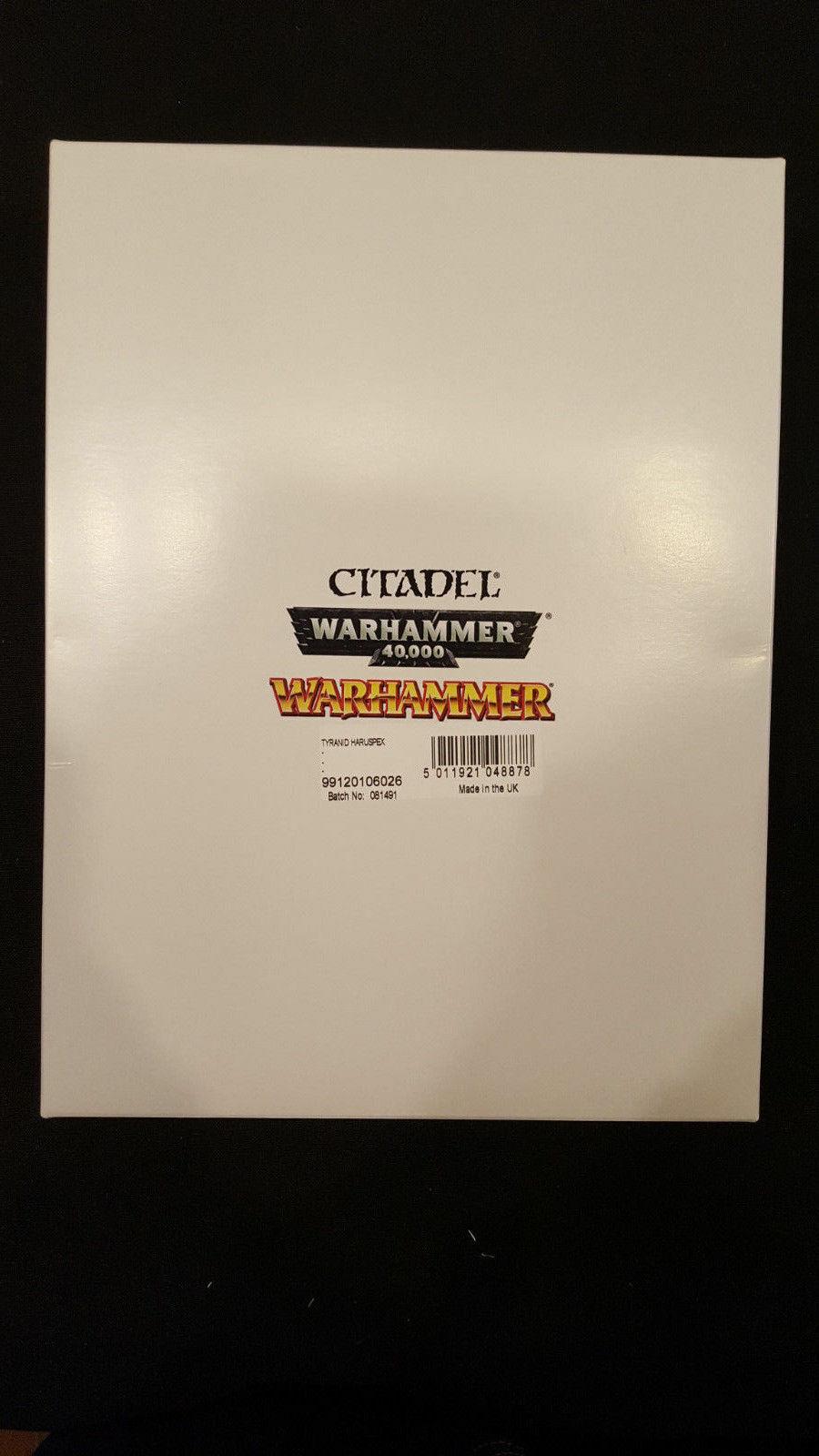 Warhammer 40,0000  Haruspex Exocrine GW Plastic NIB