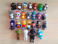 25 kinds of Cartoon 8GB Flash Memory Stick Pen Drive U Disk Hot Sale USB 2.0