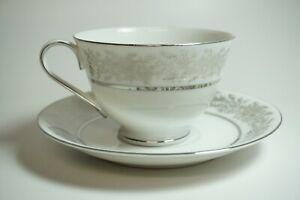 Vintage-2-5-034-Seyei-Fine-China-Japan-Porcelain-Gold-Floral-Tea-Cup-amp-Saucer-3208