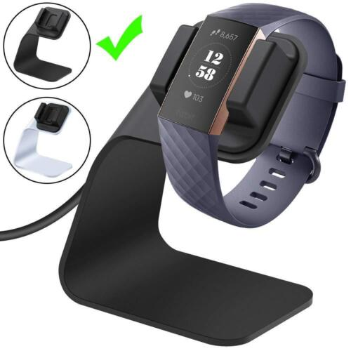 CAVN Fitbit Charge 3 Ladekabel Dock 150cm//4.9ft Ersatz USB Premium Ladestation