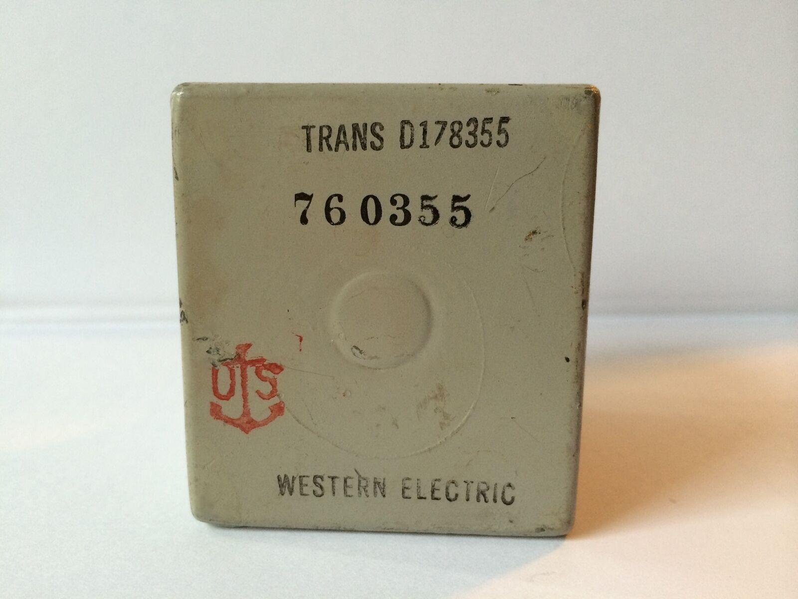 Western Electric Electric Electric Transformador UTC Triad Thordarson  mejor oferta