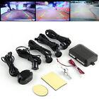 Circular Parking Sensors Car Backup Reverse Radar Rearview Mirror LED Display UL