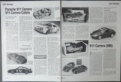 Responsabile Bburago Cronaca Porsche 911 Carrera E 911 Carrera Cabrio... Da 1998-mostra Il Titolo Originale Una Grande Varietà Di Modelli
