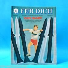 DDR FÜR DICH 36/1989 Eberswalde Frankfurt Bäckerei Burgstädt Textima K. Dörre A