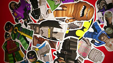 10 MINI LEGO BATMAN VINYL MAGNETS PARTY BAG FILLERS