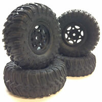(4) Four Axial SCX10 1.9 Ripsaw Soft Compound Tires AX12016 Crawler Scale Scaler