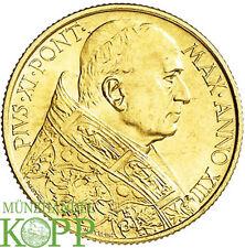 R615) VATIKAN 100 Lire 1934 - Pius XI. 1922-1939 - Gold