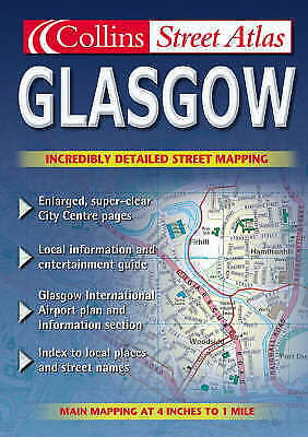 """VERY GOOD"" Glasgow Colour Street Atlas, , Book"