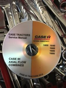details about best case ih 1680 combine tractor workshop service repair manual dvd 8 29186 Combine Case IH Axial-Flow History