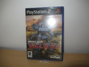 Asalto-Encaja-Valken-Sony-Playstation-2-PS2-Pal-Nuevo-Empaquetado-Pal