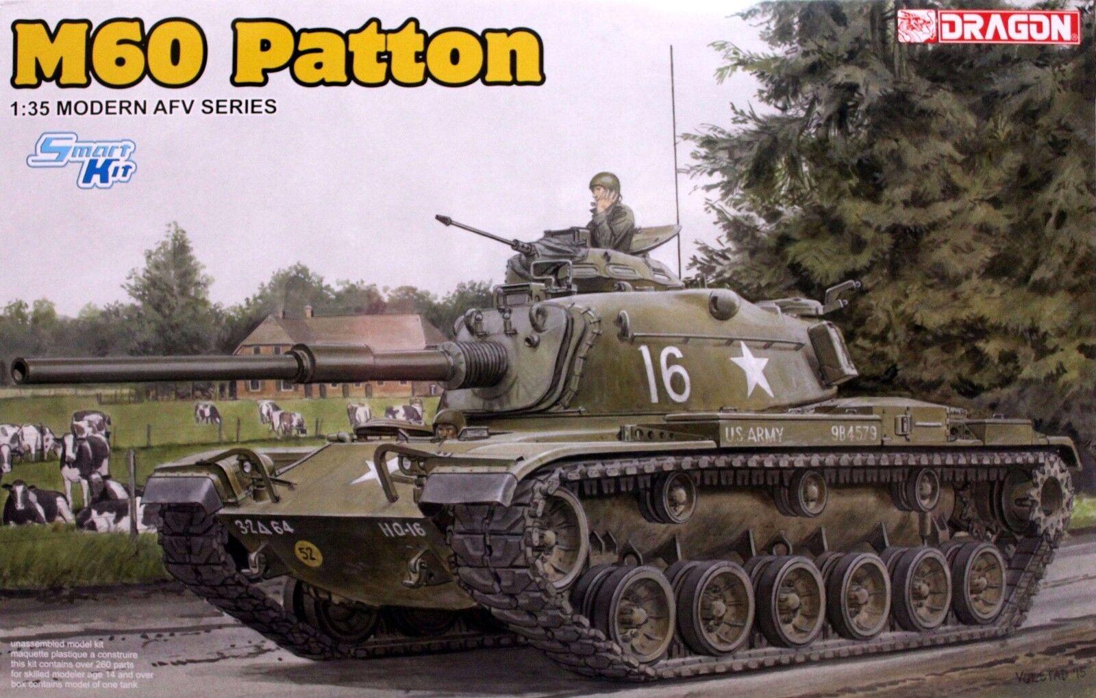 Dragon 1 35 3553 US M60 Patton Main Battle Tank (Modern AFV Series)
