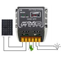 12V/24V 20A Solar Panel Charge Controller Battery Regulator Safe Protection SP