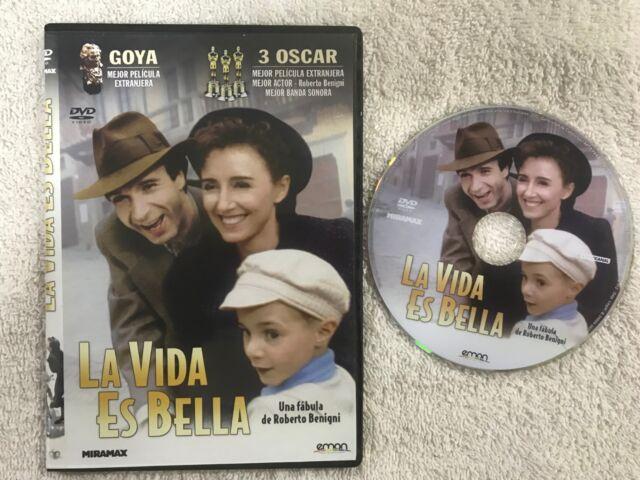 LA VIDA ES BELLA ROBERTO BENIGNI   DVD