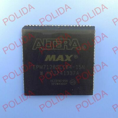 1PCS  Programmable Logic Device CPLD IC ALTERA PLCC-84 EPM7128SLC84-15