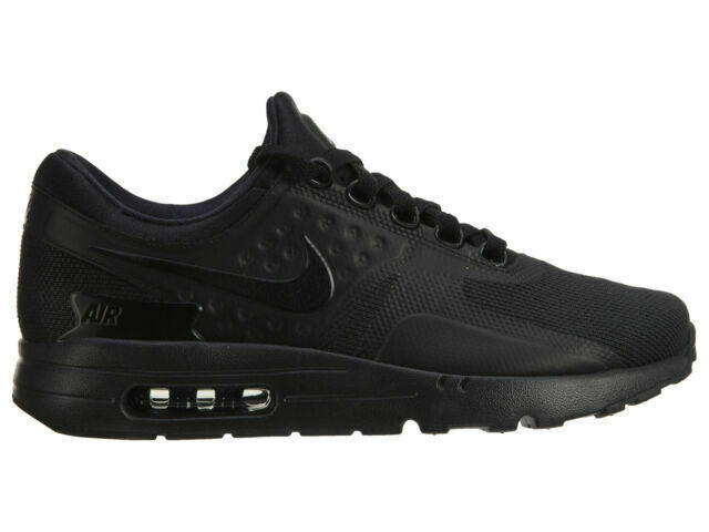 Size 12 - Nike Air Max Zero Essential Triple Black for sale online ...