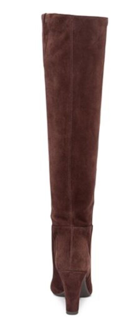 Jessica Simpson Damenschuhe Ference Hot Chocolate Split Suede Tall Stiefel 10
