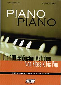 Klavier-Noten-PIANO-PIANO-Band-1-Ausgabe-LEICHT-HAGE-EH-3633