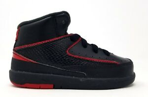 dc89ca8bfff41d 395720-002 Nike Toddler Jordan 2 Retro BT Black Varsity Red