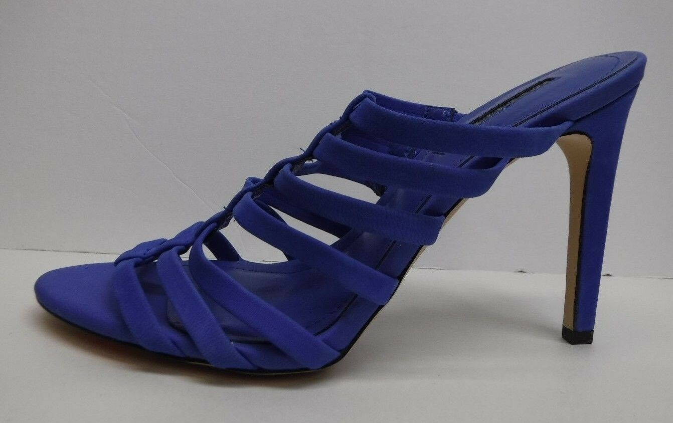 BCBG BCBGeneration  Size 8  Blue Leather Heels New Womens Shoes