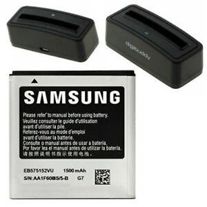 Batterie-Pile-Samsung-EB575152VU-Station-de-Charge-pour-i9000-Galaxy-S