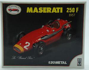 revival 1:20 - maserati 250-f von 1957 - bausatz metall kit diecast