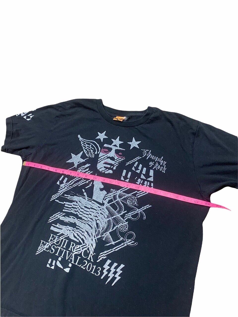 Fuji Rock Festival 2013 Black Extra Large XL T-Sh… - image 3