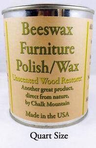 Furniture-Restorer-amp-Polish-for-Wood-1-Quart-32-Oz-039-s-034-All-Natural-034