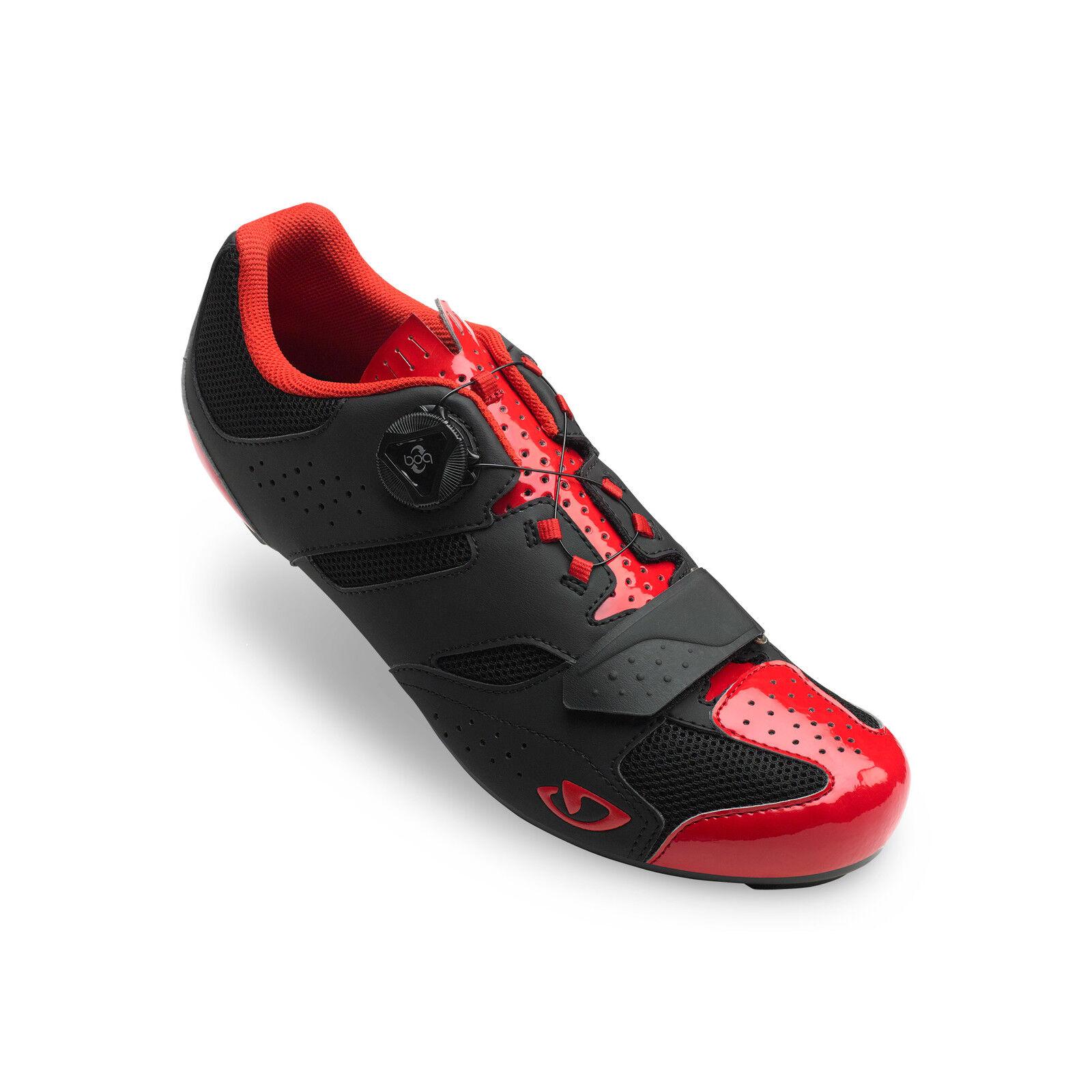 Giro Savix Rennrad Fahrrad Schuhe Schuhe Schuhe schwarz rot 2019 cf3702