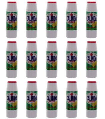 15pz Calinda Extra In Polvere Pulisce Sgrassa Deodora 550 Gr. Nuovo Originale